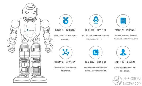优必选AlphaEbot机器人――陪伴孩子的好伙伴